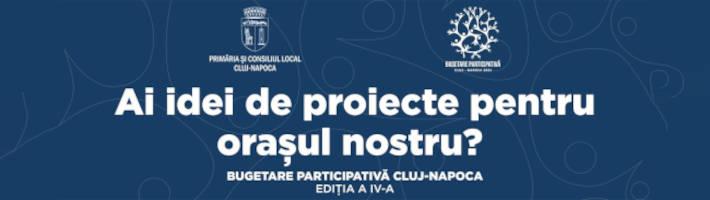 Bugetare participativa Cluj-Napoca 2021